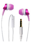 Wicked Metallics Stereo Wired Headset - Pink