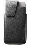 BlackBerry® Leather Swivel Holster – Black